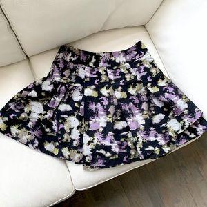Banana Republic Pattern Mini Skirt
